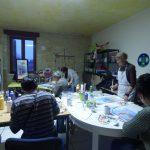 atelier peinture au centre social