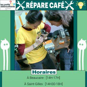 Repare café samedi 17 octobre